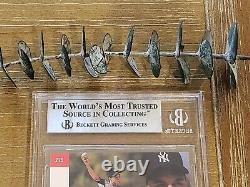 1993 Sp Derek Jeter Foil #279 Rookie Rc Bgs 9 Avec (2) Gem Mint 9.5 = Psa