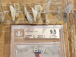 1993 Sp Derek Jeter Foil Recrue Gem Mint Bgs 9.5 Avec Pristine 10 = Psa 10