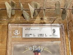 1993 Sp Derek Jeter Foil Rookie Bgs 9 Avec Gem Mint 9,5 + Mint 9 Angle = Psa