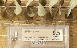 1993 Sp Derek Jeter Foil Rookie Véritable Bijou Mint Pristine Bgs 9.5 = 10 Psa