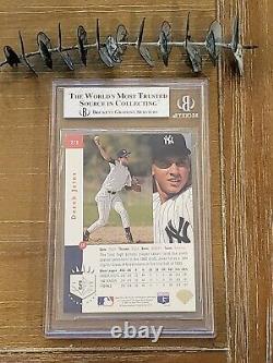 1993 Sp Foil Derek Jeter #279 Rookie Card Beckett Bgs 8 Avec Gem Mint 9.5 + 9