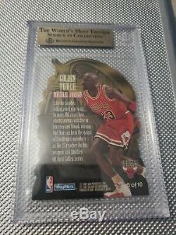 1996-1997 Skybox Prime Michael Jordan Golden Touch Bgs 9.5 Gem Mint Rare