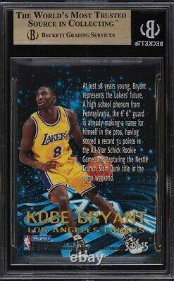 1996 Skybox E-x2000 Star Date 2000 Kobe Bryant Rookie Rc #3 Bgs 9.5 Gem Mint