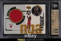 1998 Upper Deck Jeu Maillots Michael Jordan Patch # Gj20 Bgs 9.5 Gem Mint