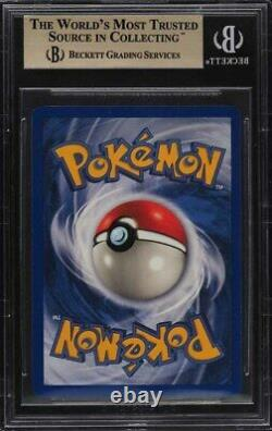 1999 Base De Pokemon Charizard Shadowless Holo R Bgs 9.5 Gem Mint