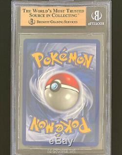 1999 Pokemon, Charizard / Glurak, 1. Édition, Bgs Quad + 9,5 Gem Mint, Psa10