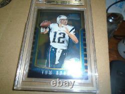 2000 Bowman Chrome #236 Tom Brady Patriots Rc Rookie Bgs 9.5 Gem Mint