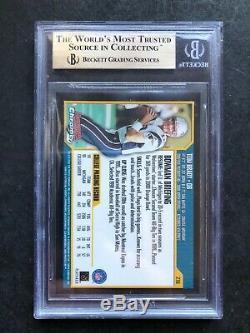 2000 Bowman Chrome # 236 Tom Brady Rc Rookie Bgs 9,5 Gem Mint + 3 + 10 9.5s Psa 10