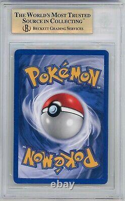 2000 Pokemon Neo Genesis 1ère Édition Lugia Bgs 9.5 Menthe Gemme