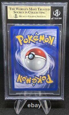 2000 Pokemon Rocket 1ère Édition Dark Charizard #4 Holo Bgs 9.5 Gem Mint Psa 10