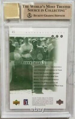 2001 Sp Authentic Tiger Woods Rookie Bgs 9.5 Gem Mint 10 Auto /900 Invest Now