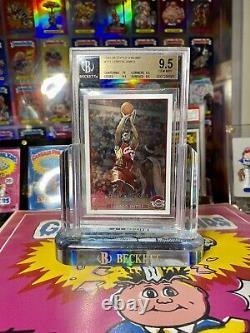 2003-04 Chrome Lebron James Topps Rookie Card # 111 Bgs 9.5 Gem Mint Psa 10