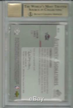2003-04 Lebron James Sp Signature Edition Auto Rc. Bgs 9,5 Gem Mint Avec 10 Sous