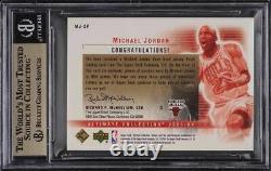 2003 Collection Ultime Double Michael Jordan Patch / 50 Bgs 9.5 Gem Mint