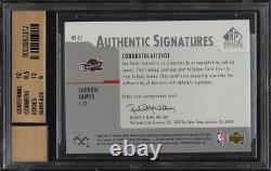 2003 Sp Signature Edition Lebron James Rookie Rc Auto Bgs 9.5 Gem Menthe