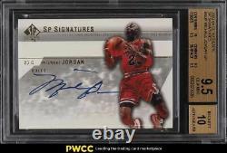 2003 Sp Signatures Authentiques Michael Jordan Auto #mja Bgs 9.5 Gem Mint