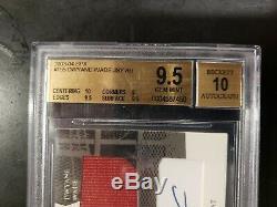 2003 Spx Dwyane Wade Recrue Rc Red Jersey Sp Auto / 750 # 152 Bgs 9.5 Gem Mint