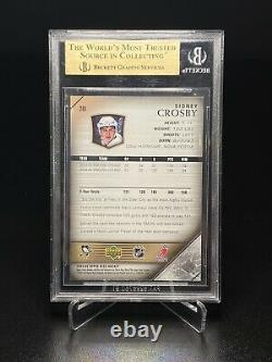 2005-06 Sidney Crosby Upper Deck Young Guns 201 Rookie Card Rc Bgs 9.5 Gem Mint