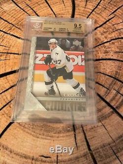 2005-06 Upper Deck Sidney Crosby Yg Rc Rookie Young Guns # 201 Bgs 9,5 Gem Mint