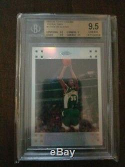 2007-08 Kevin Durant Chrome Refractor Rc- Topps Bgs 9.5 Gem Mint- 1165/1449
