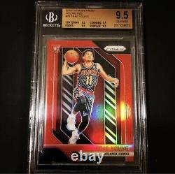 2018-19 Trae Young Red Prizm Rc /299 Bgs 9.5 Menthe Gemme