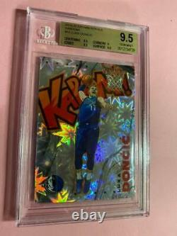 2019-20 Panini Crown Royale Kaboom! Carte #15 Luka Doncic Bgs 9.5 Menthe Gemme