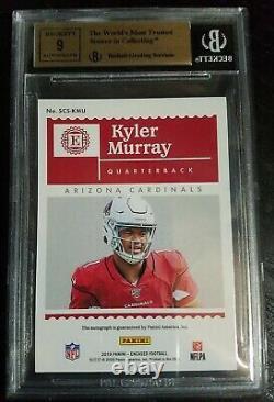 2019 Encased Kyler Murray Rc Auto #d 14/50 Bgs Gem Mint 9.5 Cardinals