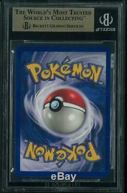 Base De Pokemon Set Shadowless Charizard 4/102 Bgs 9.5 Gem Mint Quad 9.5 = 10 Psa