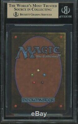 Bgs 9.5 Black Lotus Alpha Gem Mint 2x 10s B ++ Magic The Gathering Mtg 1993