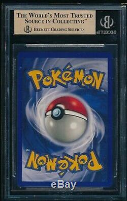 Bgs 9.5 Dracaufeu 1999 Base De Pokemon # 4/102 Holo Rare Gem Mint Psa Avec 10 Centrage