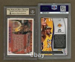 Bgs 9.5 Gem Mint 1996 Topps Basketball Kobe Bryant Rookie Rc #138 + Psa 10