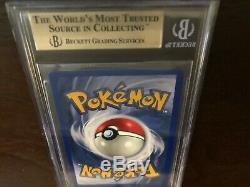Bgs 9.5 Gem Mint 1ère Édition De Base Shadowless Charizard Épais Stamp Pokemon 4/102