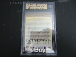 Bgs 9.5 Gem Mint Derek Jeter 1993 Upper Deck Gold Hologram Recrue Rc # 449 4x9.5