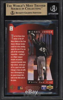 Bgs 9.5 Michael Jordan 1994 Upper Deck Sp Red Holoview Estampés # 16 Gem Mint Rc