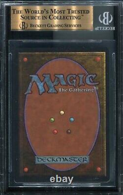 Black Lotus Unlimited Edition Bgs 9.5 Gem Mint Mtg Magic The Gathering