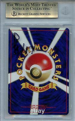 Charizard # 6 Bgs 9,5 Gem Mint Pokemon 2000 Neo 2 Japonais Holo Promo Card 5892