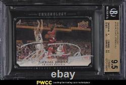 Chronologie Du Pont Supérieur 2007 Michael Jordan Auto /99 #138 Bgs 9,5 Gem Mint