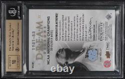Collection Exquise 2012 Dream Seasons Michael Jordan Auto /70 Bgs 9.5 Gem Mint