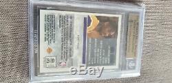 Kobe Bryant 1996-97 Rc Meilleur Menthe Gemme Bgs Réfracteurs Or Quad 9.5 De