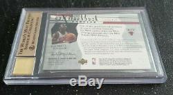 Michael Jordan 2003-04 Spx Flashback Auto Jersey / 23 Autograph Bgs 9,5 Gem Mint