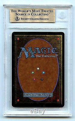 Mtg Antiquités Atelier Mishra Bgs 9.5 Carte Monnaie Magie Amricons Magiques 5847