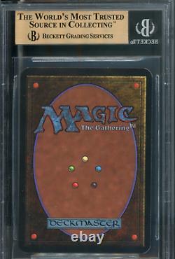 Mtg Magic Alpha Time Walk Bgs 9,5 B Gem Mint (tcc)