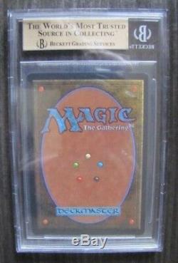 Mtg Magic The Gathering Arabian Nights Juzam Djinn Bgs 9.5 Gem Mint
