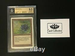 Mtg Magique Illimité Black Lotus Bgs 9.5 B Gem Mint (tcc)