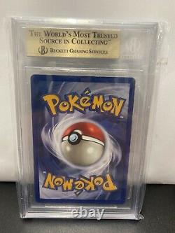 Pokemon 1. Edition Booster Box + Glurak Gem Mint Bgs 9,5