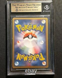 Pokemon Unlimited Rayquaza Gold Star Japonais Holo Bgs 9.5 Gem Mint