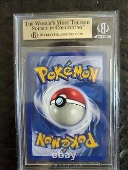 Première Édition Jolteon Holo Bgs 9.5 Psa 10 Gem Mint + 1999 Pokemon Jungle 1er