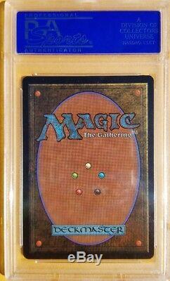 Tuteur Démoniaque Vintage Magic Gem Mint Mtg Psa 10 Beta, Bgs 9.5 Qualité